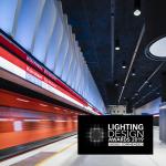 Helsingin metroasemien valaistukselle kunniamaininta